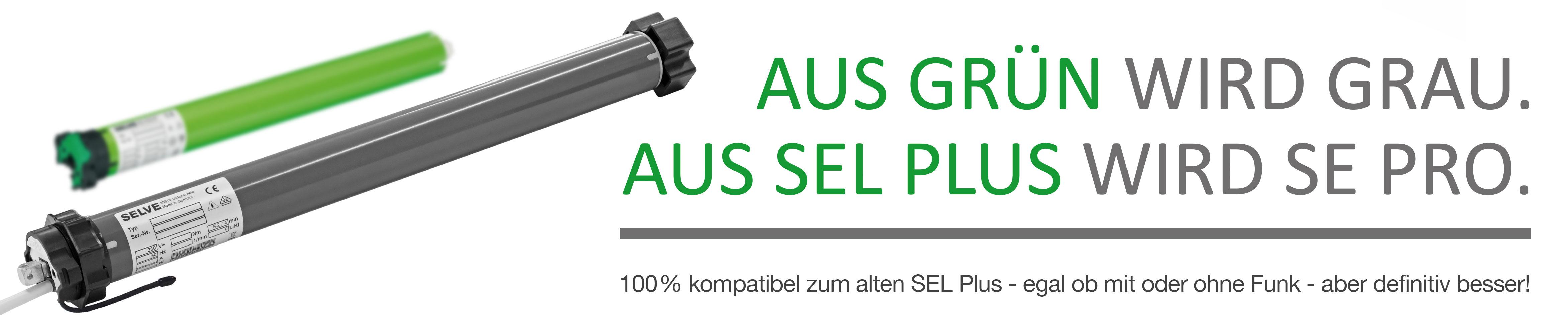 Aus grün wird grau. Aus SEL Plus wird SE Pro